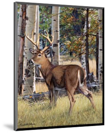 Fall Whitetail-Russell Cobane-Mounted Art Print