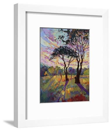 California Sky (bottom left)-Erin Hanson-Framed Art Print