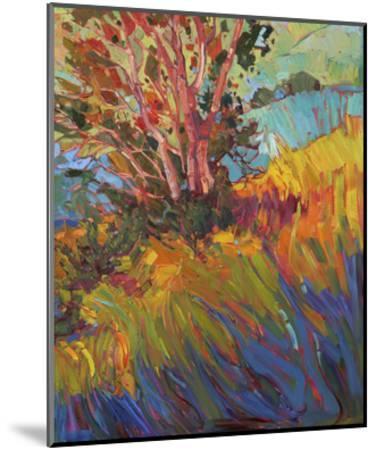 Hills in Quadtych (bottom right)-Erin Hanson-Mounted Art Print