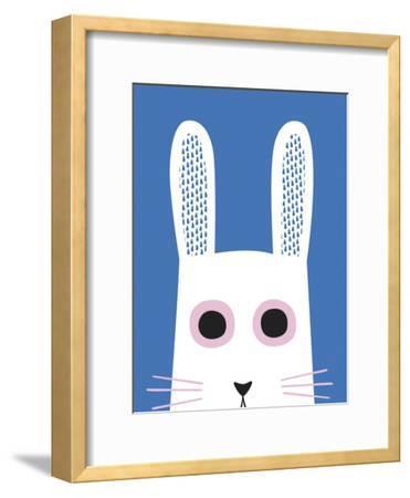 Best of Friends - Rabbit-Sophie Ledesma-Framed Art Print