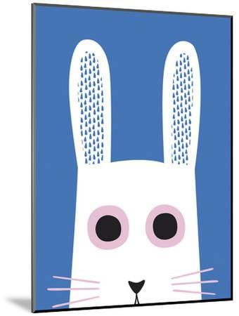 Best of Friends - Rabbit-Sophie Ledesma-Mounted Art Print