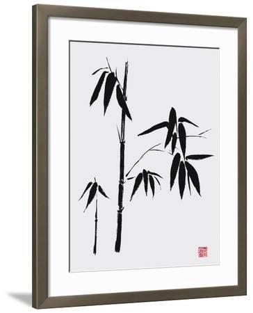 Bamboo II-Jenny Tsang-Framed Giclee Print