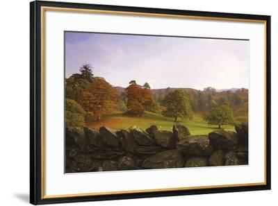 Dry Stone Wall-Chris Simpson-Framed Giclee Print