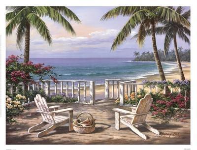 Coastal View-Sung Kim-Art Print