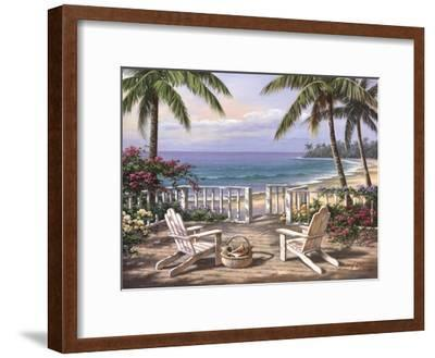 Coastal View-Sung Kim-Framed Art Print