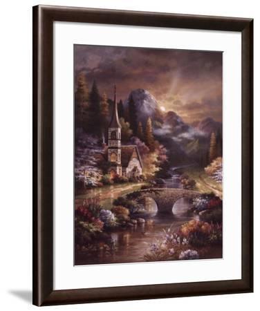 Early Service-James Lee-Framed Art Print