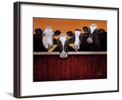 Waiting For Company-Lowell Herrero-Framed Art Print