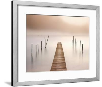 Lake Walk I-Jonathan Critchley-Framed Art Print