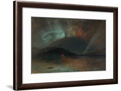 Aurora Borealis-Frederic Edwin Church-Framed Premium Giclee Print