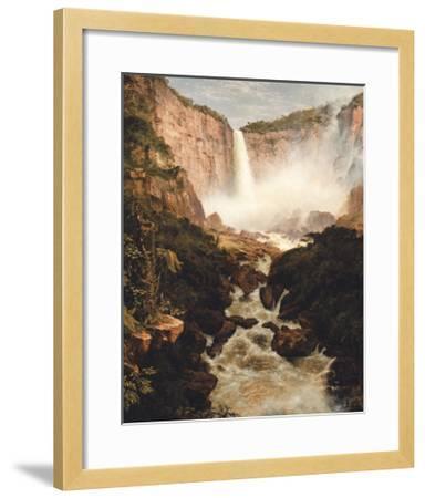 Tequendama Falls, near Bogota, New Granada-Frederic Edwin Church-Framed Premium Giclee Print