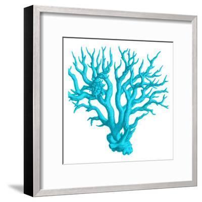 Blue Coral 3-Sheldon Lewis-Framed Art Print