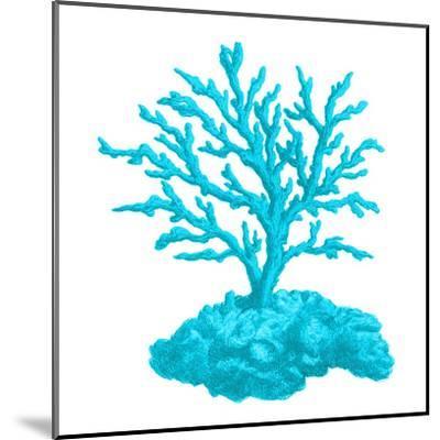 Blue Coral 4-Sheldon Lewis-Mounted Art Print