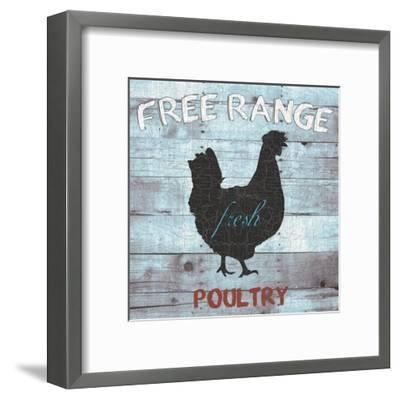 Free Range Poultry-Sheldon Lewis-Framed Art Print