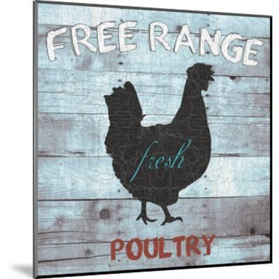 Free Range Poultry-Sheldon Lewis-Mounted Art Print