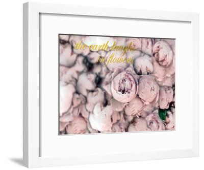 Laugh Flowers-Tracey Telik-Framed Art Print