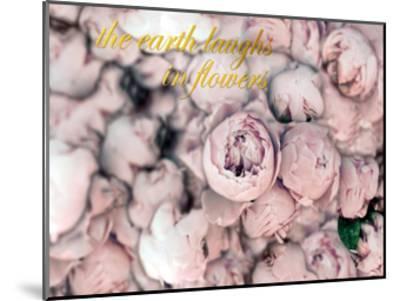 Laugh Flowers-Tracey Telik-Mounted Art Print