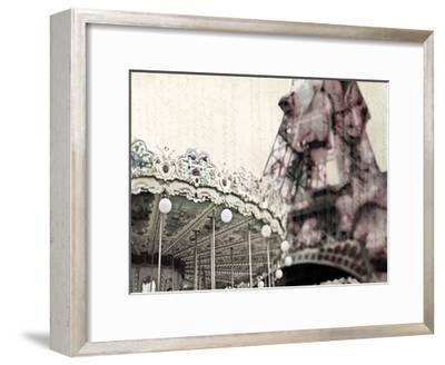Vintage Carousel-Tracey Telik-Framed Art Print