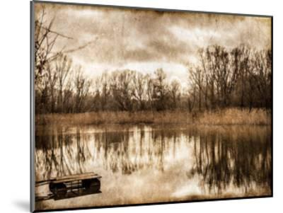 On the River 1-Kimberly Allen-Mounted Art Print