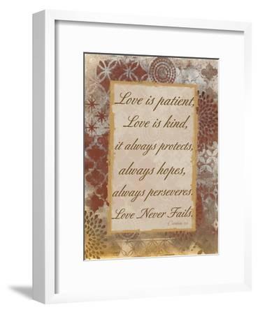 Loving Corinthians-Smith Haynes-Framed Art Print