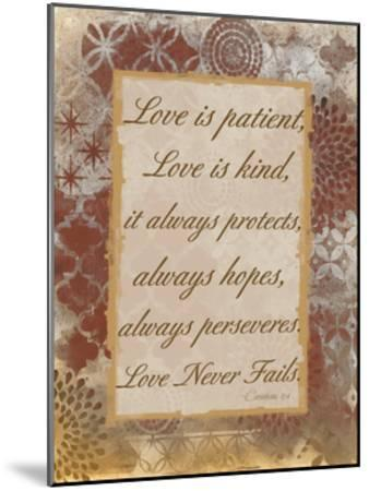 Loving Corinthians-Smith Haynes-Mounted Art Print