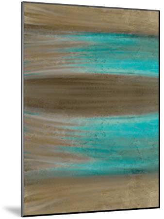 Turquoise Stream 1-Kimberly Allen-Mounted Art Print