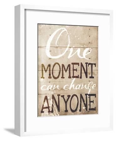 One Moment-Jace Grey-Framed Art Print