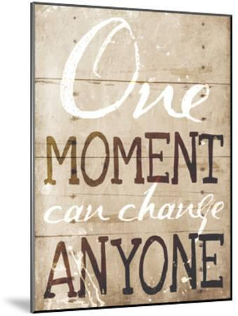 One Moment-Jace Grey-Mounted Art Print