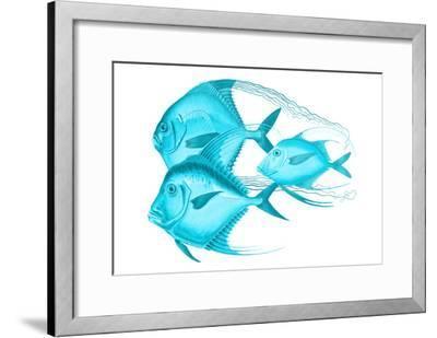Angels Of The Deep-Sheldon Lewis-Framed Art Print