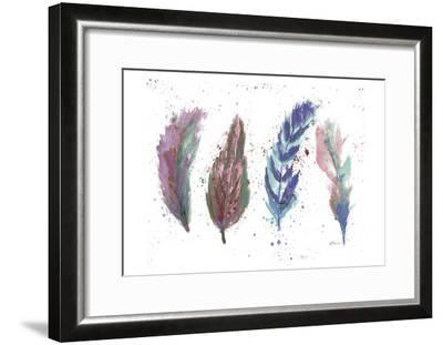 Natures Feathers-Victoria Brown-Framed Art Print