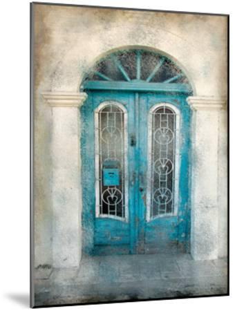 Teal Doorway-Kimberly Allen-Mounted Art Print