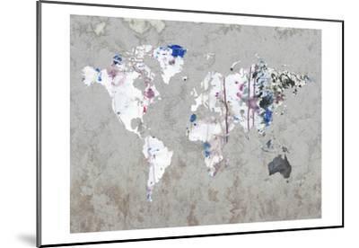 Map Your Adventures-Sheldon Lewis-Mounted Art Print