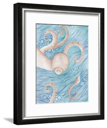 Sea Of Octopus-Pam Varacek-Framed Art Print
