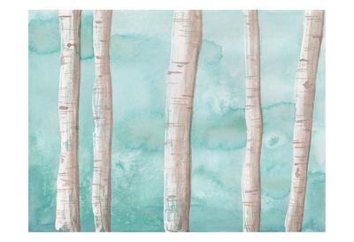 Through The Trees-Pam Varacek-Framed Art Print