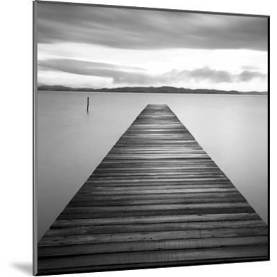 Evening Jetty-M^ Mun-Mounted Art Print