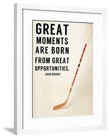 Great Moments-Sports Mania-Framed Art Print