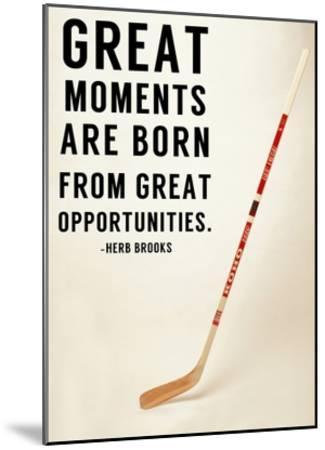 Great Moments-Sports Mania-Mounted Art Print