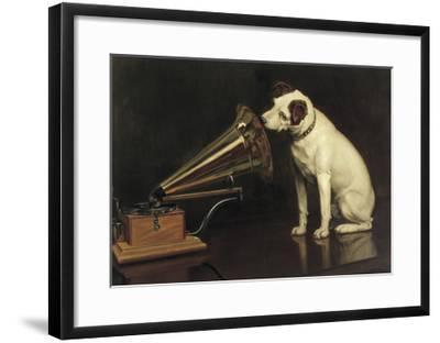 His Master's Voice-Francis Barraud-Framed Giclee Print