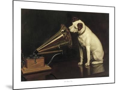 His Master's Voice-Francis Barraud-Mounted Giclee Print