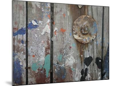 Aegean Brushstrokes V-Tony Koukos-Mounted Giclee Print
