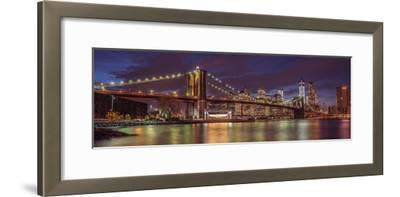 City Lights-Assaf Frank-Framed Giclee Print