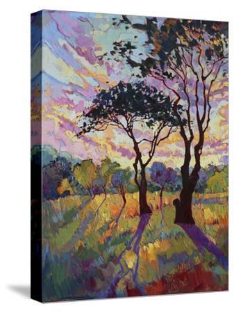 California Sky (bottom left)-Erin Hanson-Stretched Canvas Print