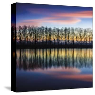 Twilight Silhouettes-Paolo De Faveri-Stretched Canvas Print