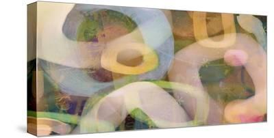 Coconut Creme-Delores Naskarent-Stretched Canvas Print