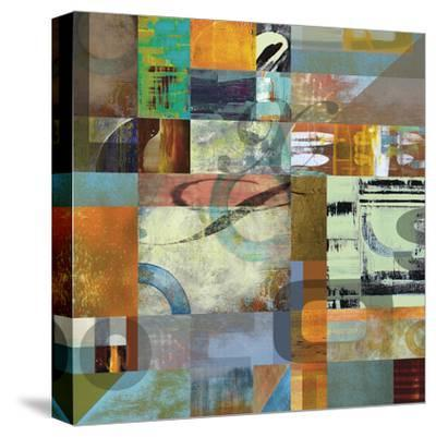 Letterforms 2-Barry Osbourn-Stretched Canvas Print