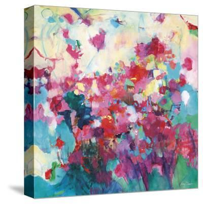 Garden Abstract-Kerri Blackman-Stretched Canvas Print