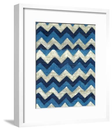 Silk Road Ikat IV-Chariklia Zarris-Framed Premium Giclee Print