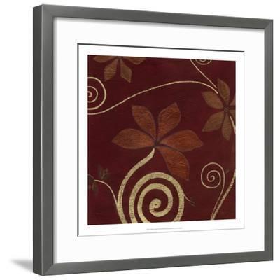 Cardamon Floral IV-June Vess-Framed Premium Giclee Print