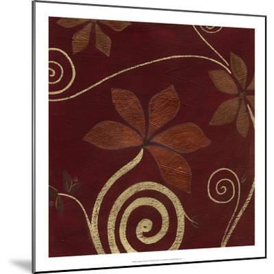 Cardamon Floral IV-June Vess-Mounted Premium Giclee Print