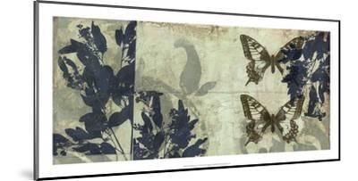 Butterfly Reverie I-Jennifer Goldberger-Mounted Premium Giclee Print
