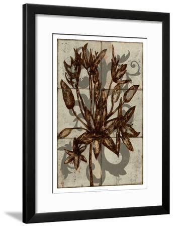 Rustic Allium-Jennifer Goldberger-Framed Premium Giclee Print